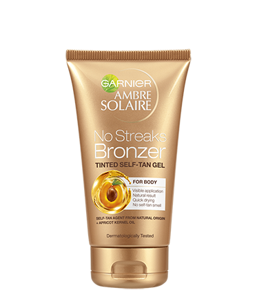 Garnier Ambre Solaire No Streaks Bronzer Tinted Body Self Tan Gel