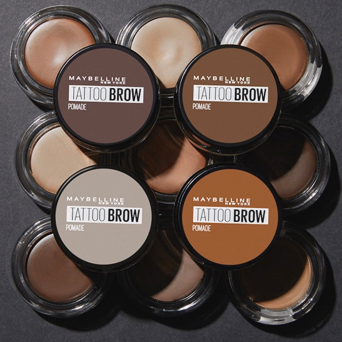 Maybelline Tattoo Brow Long Lasting Waterproof Pomade + free duo brush