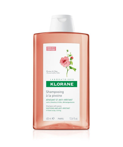 Klorane Soothing and Anti-Irritant Shampoo with Peony