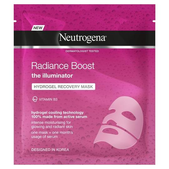 Neutrogena Fairness Boost Hydrogel Recovery Mask