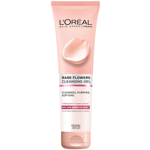 L'Oreal Paris Pure Clay Cleansing Gel Cream - Rare Flowers