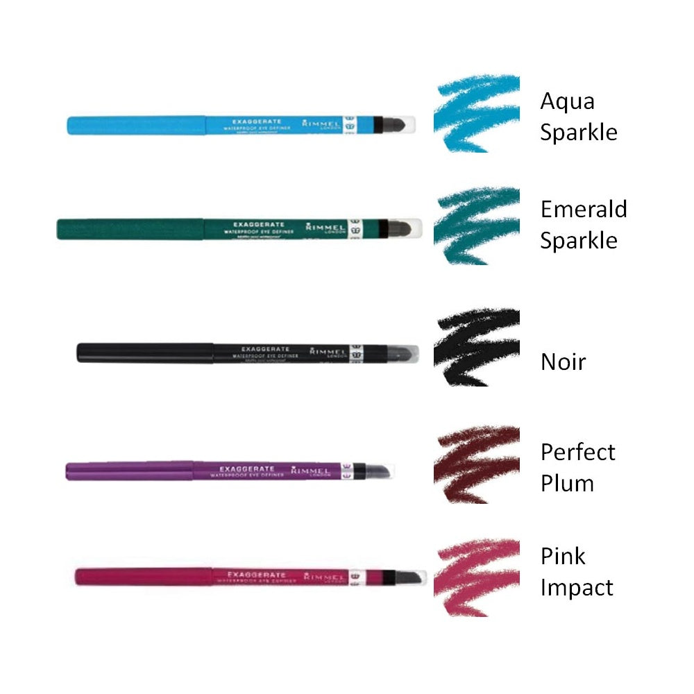Rimmel Exaggerate Eye Definer Waterproof (8 Shades Available)