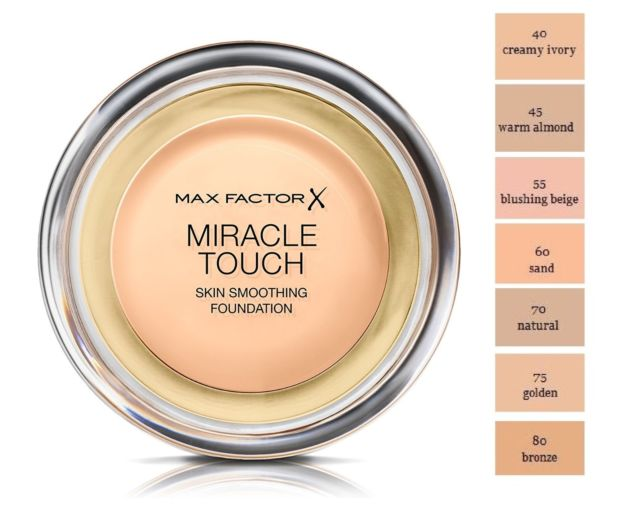 Max Factor Miracle Touch Bundle + Free Makeup Mirror