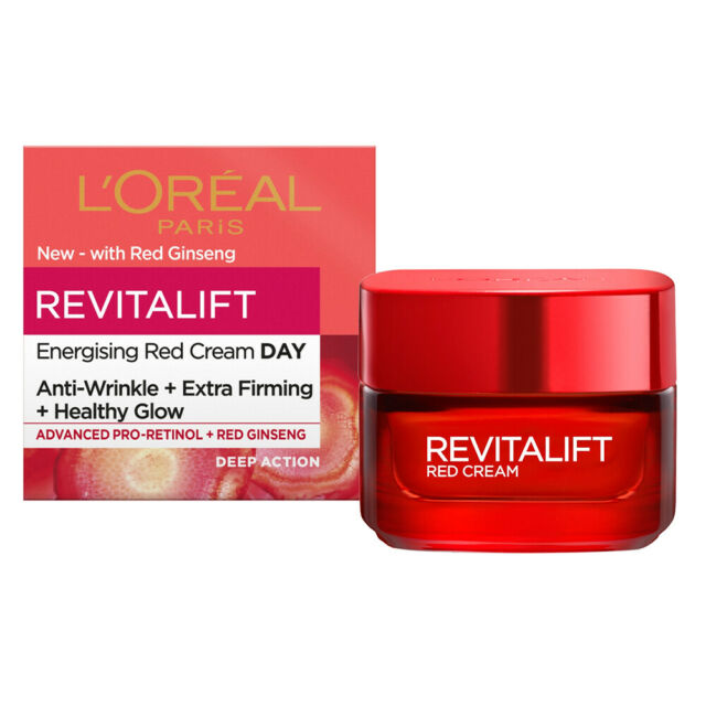 L'Oreal Paris Revitalift Energizing Red Day Cream