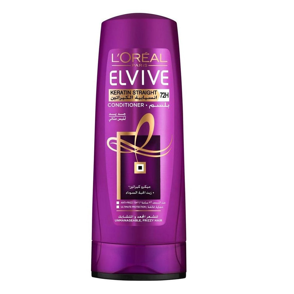 L'Oreal Paris Elvive Keratin Straight Conditioner