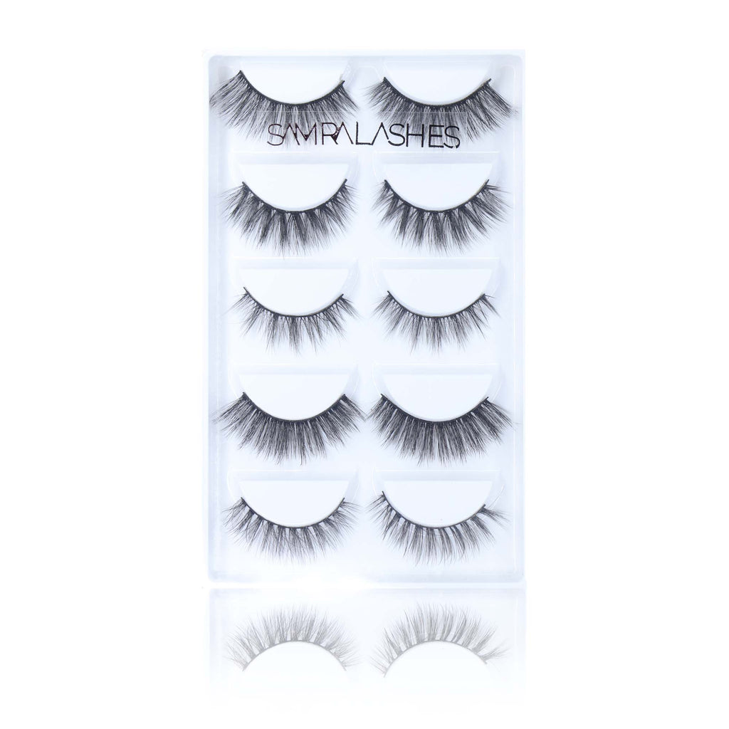 Samra Lashes Full Collection Bundle + Free Glue
