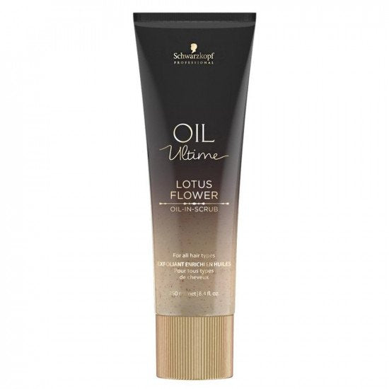 Schwarzkopf Professional Oil Ultime Lotus Flower Oil-In Scrub 250ml