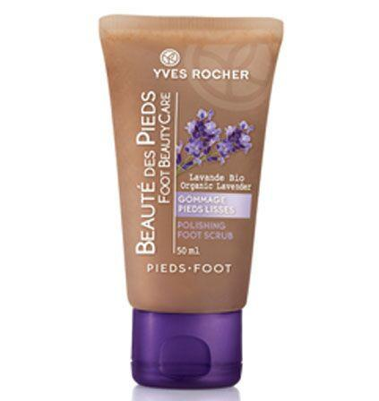 Yves Rocher Foot Polishing Scrub 75ml