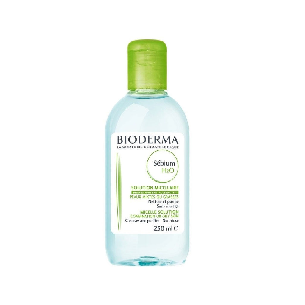 Bioderma Sebium H2O Purifying Cleansing Micellar Water Solution for Combination/Oily Skin