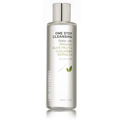 Seventeen One Step Cleansing Water with Organic Olive Fruit & Cucumber Extracts