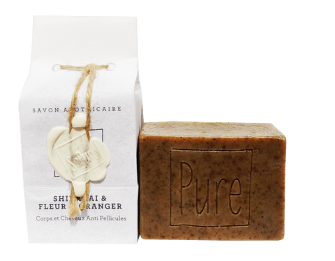 SoPure Soap Shikakai & Orange Blossom Water - Enriching & Soothing 130g