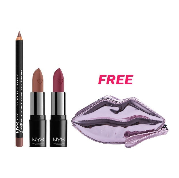 Nyx Professional Makeup Lipstick Fever Shout Loud Offer: Free Lip Pouch!