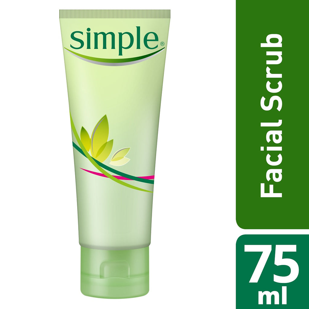 Simple Kind to skin Smoothing Facial Scrub 75ml