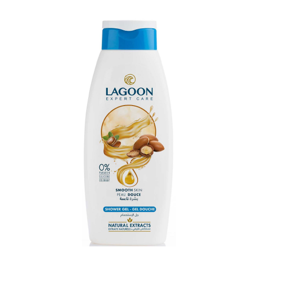 Lagoon Shower Gel with Natural Extracts - 6 Scents
