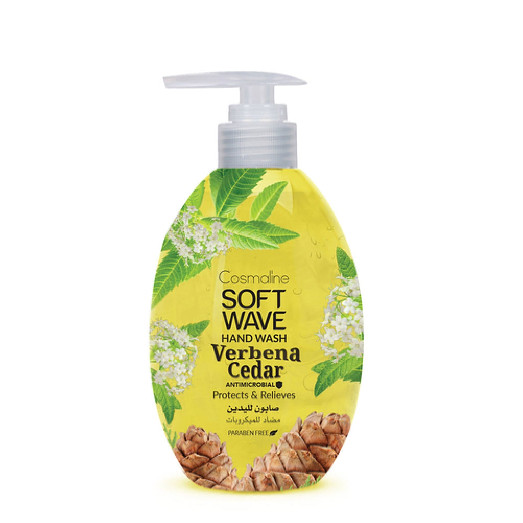 Cosmaline Soft Wave Verbena Cedar Hand Wash - Liquid Soap