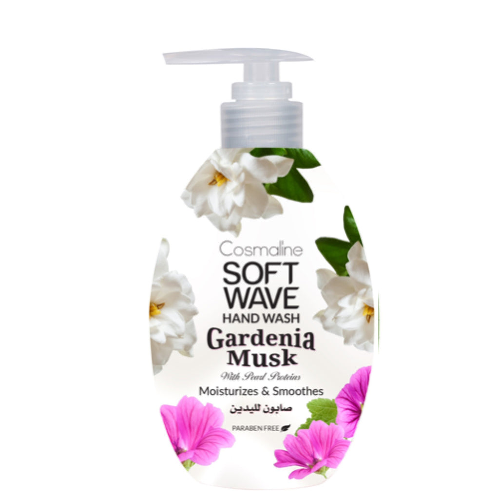 Cosmaline Soft Wave Gardenia Musk Hand Wash - Liquid Soap