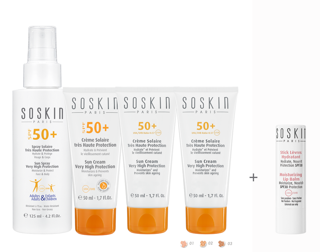 Soskin Buy any Sun Protection & Get a FREE LipBalm