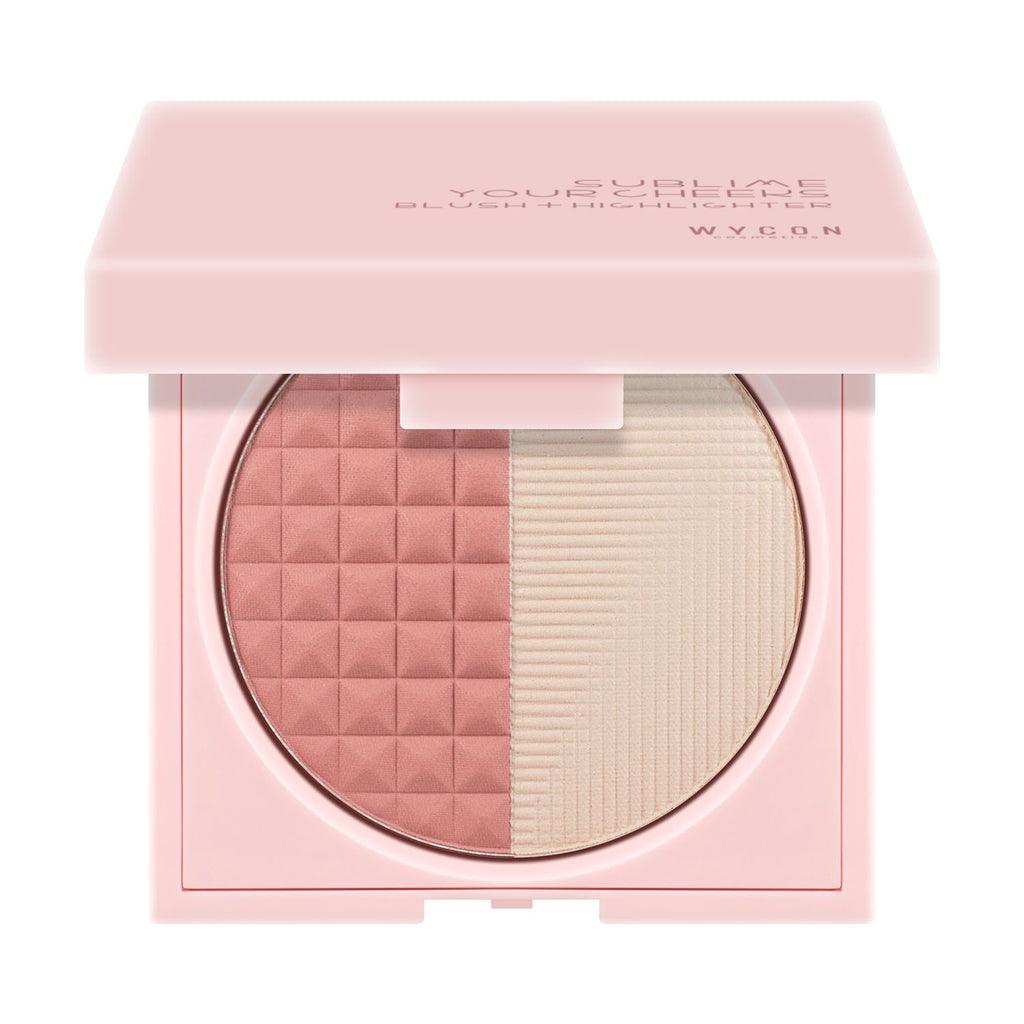 Wycon Sublime Your Cheeks - Blusher and Highlighter Powder Duo