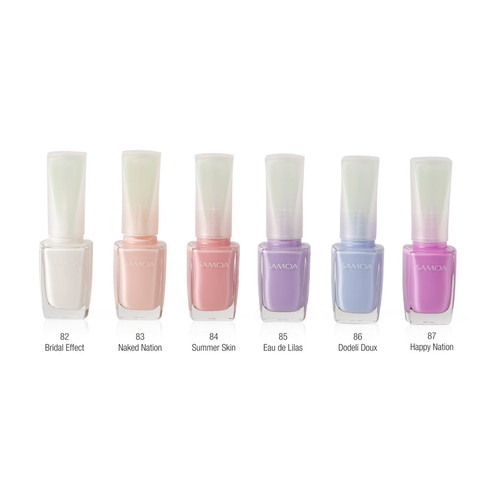 Samoa Summer Skin Nail Polish 2017 Collection (6 Colors Available)