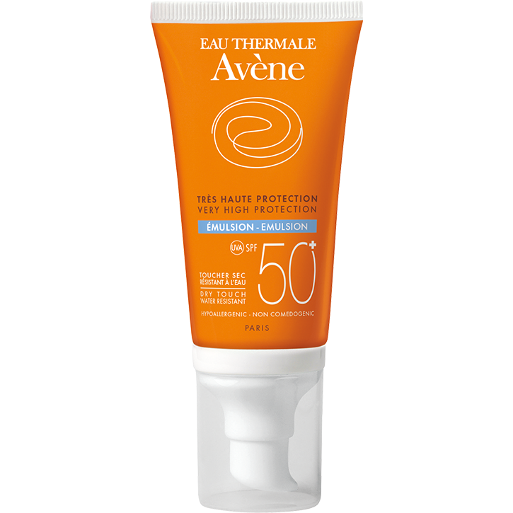 Avene Emulsion Sunscreen SPF 50+