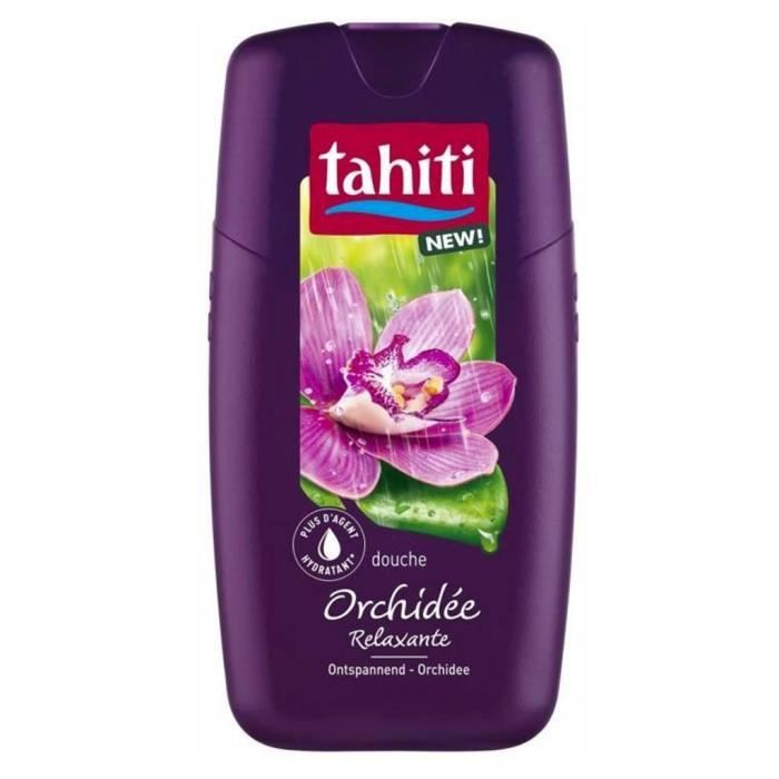 Tahiti Shower Gel Orchidée Relaxante 250ml