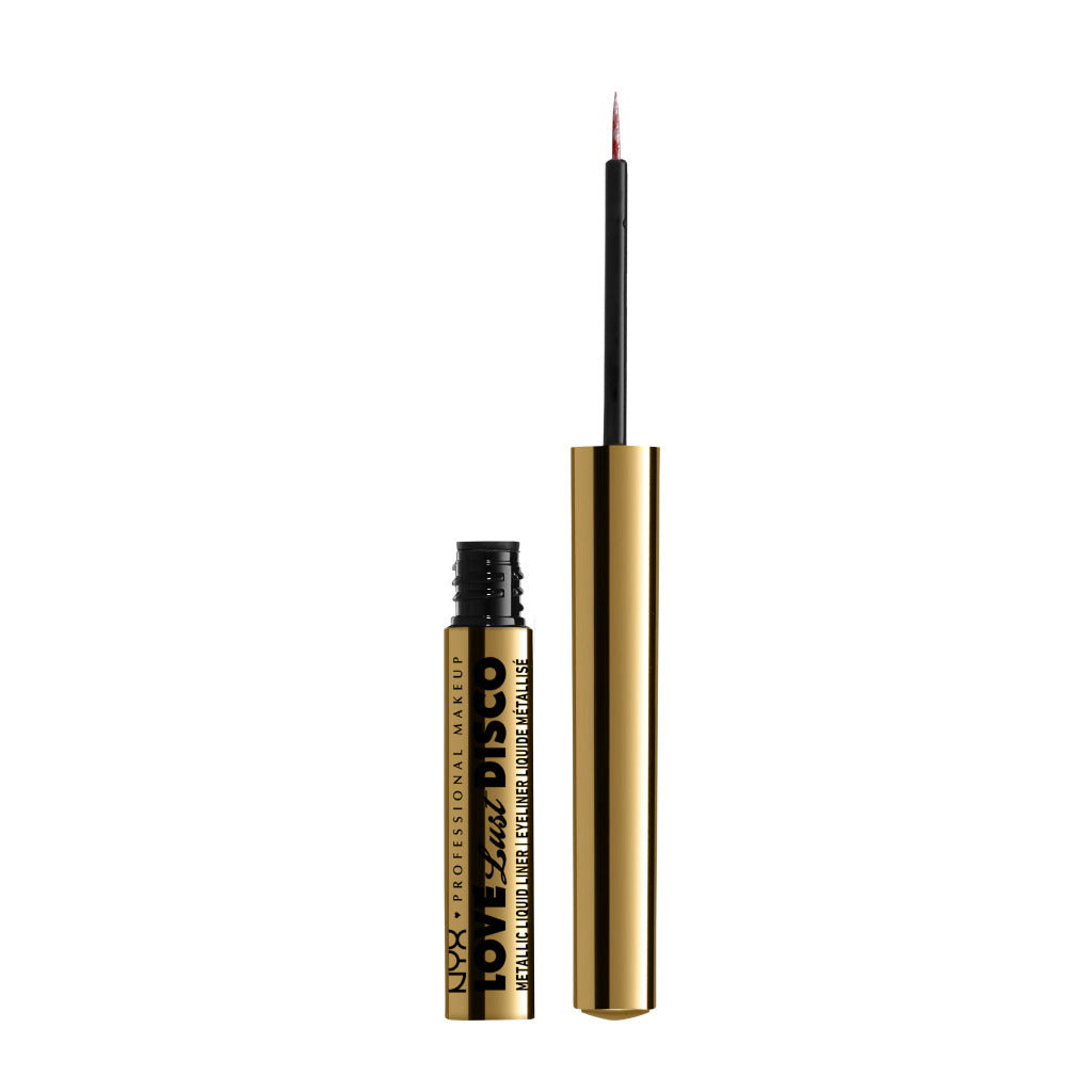 Nyx Professional Makeup Love Lust Disco Metallic Liquid Eyeliner