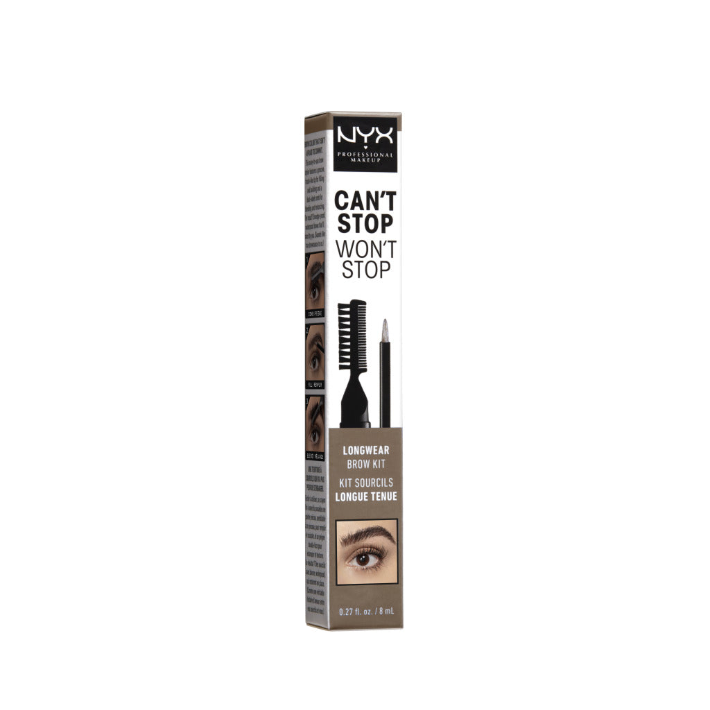 Discontinued - NYX Professional Makeup Can't Stop Won't Stop Longwear Brow Kit