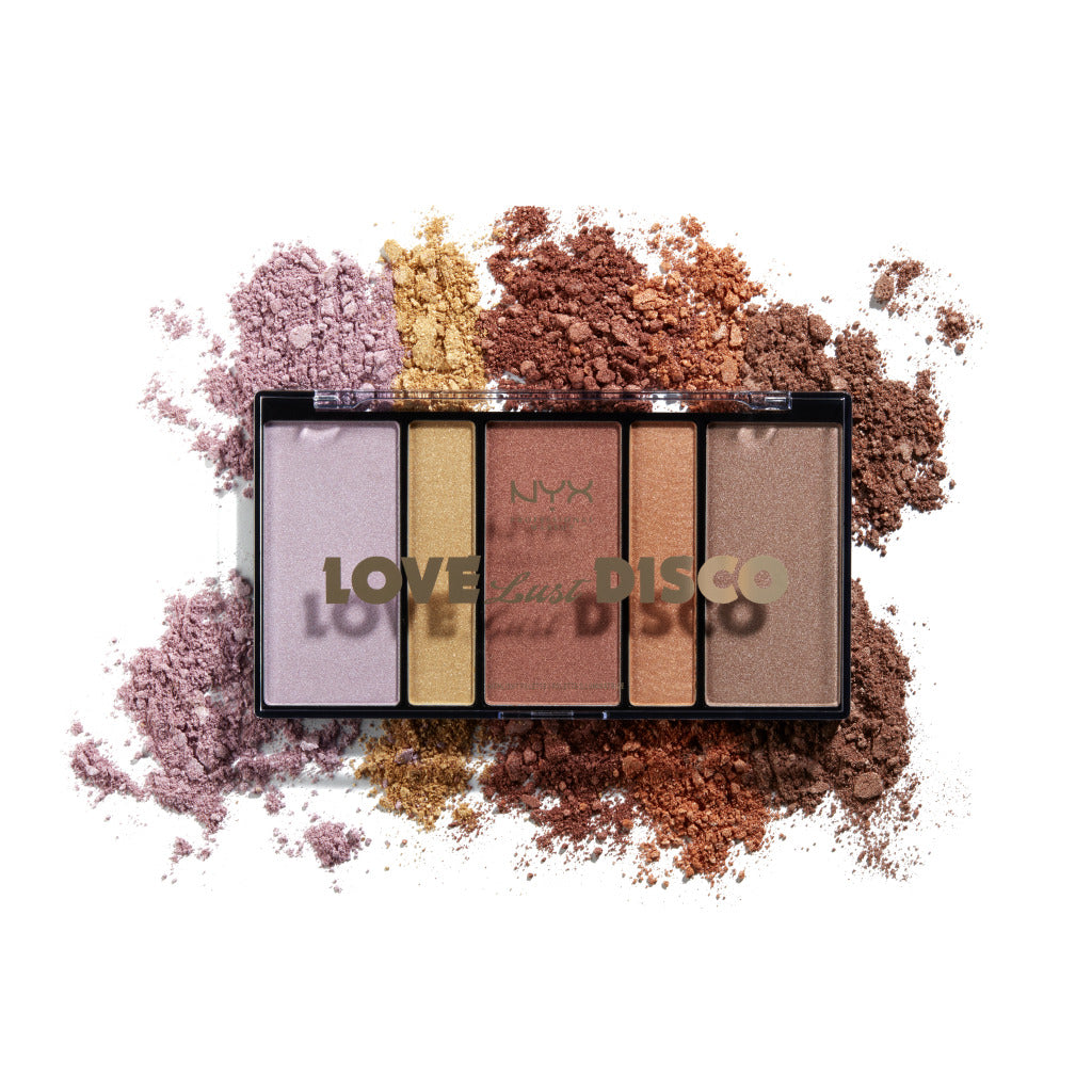 Nyx Professional Makeup Love Lust Disco Highlight Palette