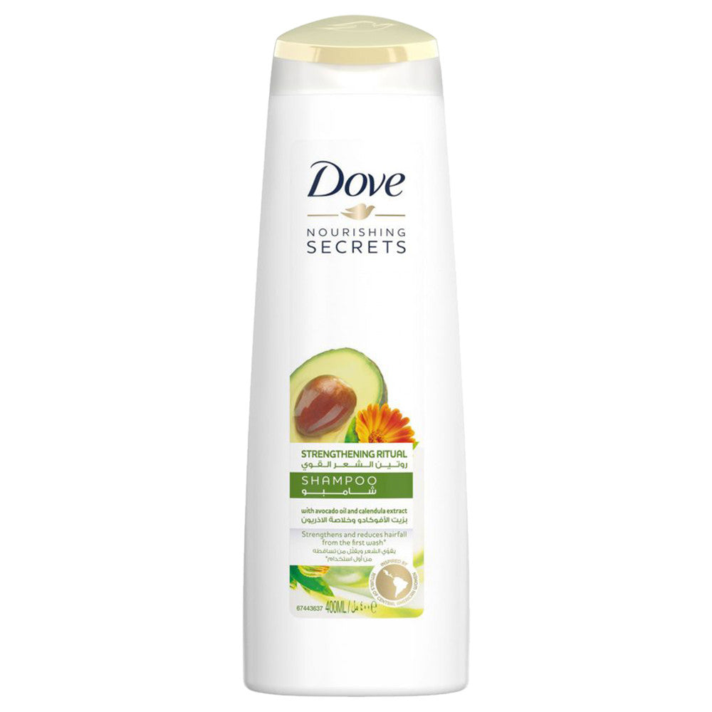 Dove Nourishing Secrets Avocado Strengthening Ritual Shampoo - 400 ml
