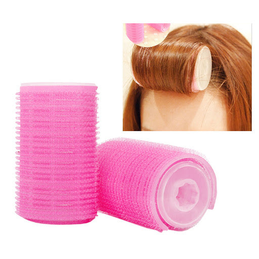 BonBon Beauty Plastic Rollies 4 Hair Rollers