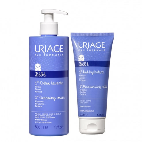 Uriage Bebe 1st Cleansing Cream Offer + FREE 1st Moisturizing Milk