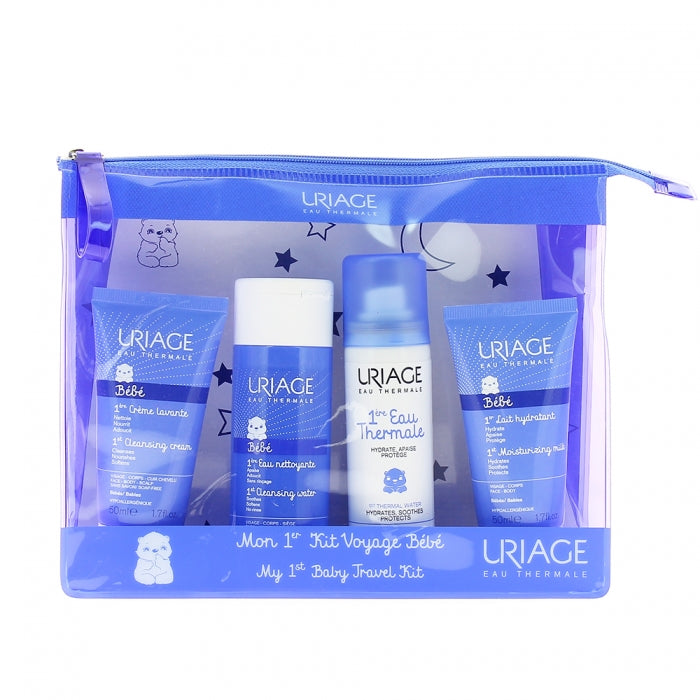 Uriage Bebe My 1st Baby Travel Kit - 4 Items