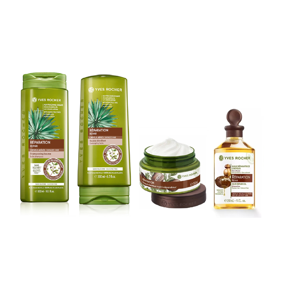 Yves Rocher Holiday Sets: Repaired Hair 20% OFF