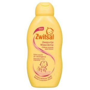 Zwitsal Baby Cream Wash Soap-Free