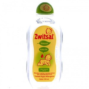 Zwitsal Baby Oil with Aloe Vera & Vitamin E
