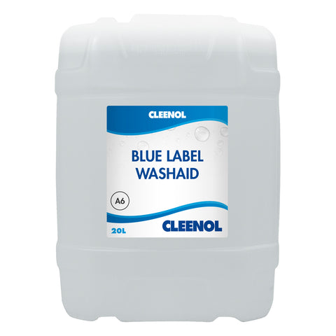 blue label machine detergent