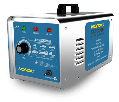 Nordic Ozone Generator - Safely sanitise with the latest quartz technology.