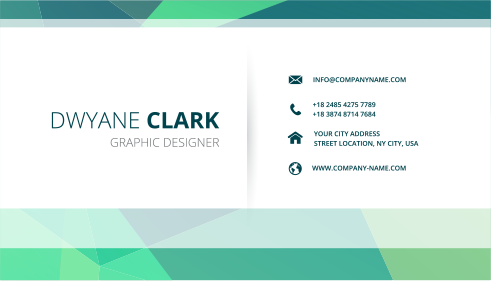 Business Card - All Options