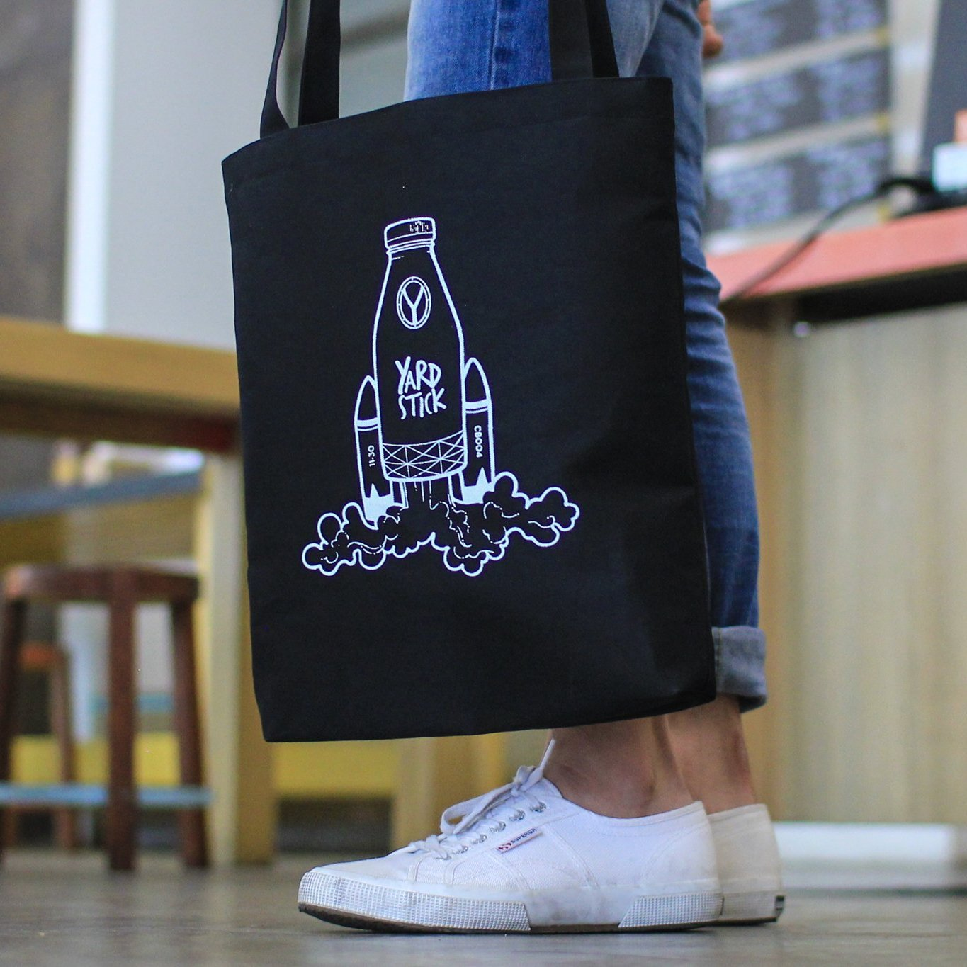 "Ltd. Ed. ""Cold Brew in Space"" Anniversary Tote"