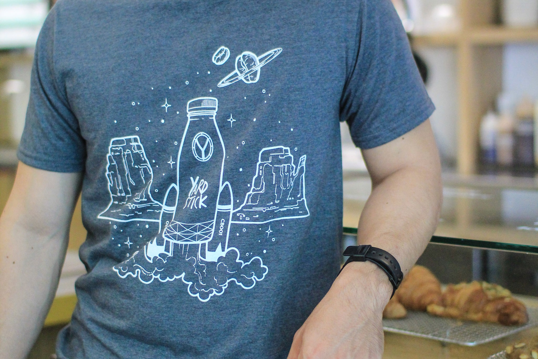 "Ltd. Ed. ""Cold Brew in Space"" Anniversary Shirt"