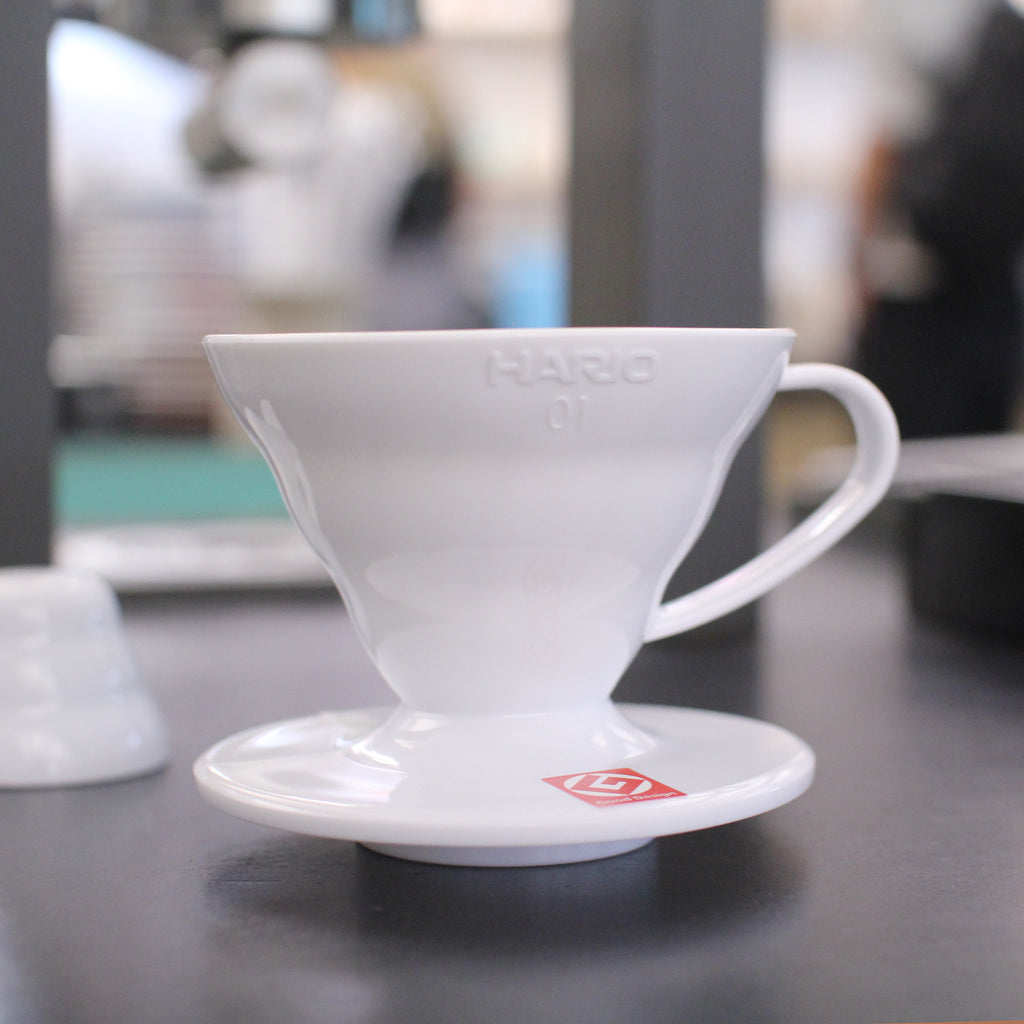 Hario V60 White Coffee Dripper