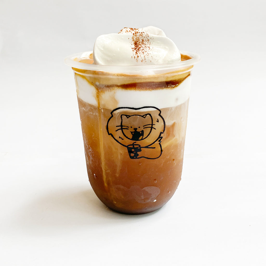 Luca The Lion: Cloud Cream Coffee