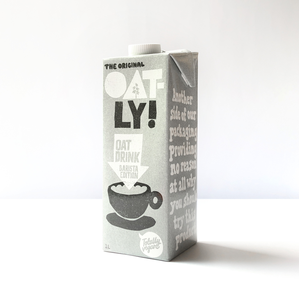 Oatly! Barista Edition Oatmilk