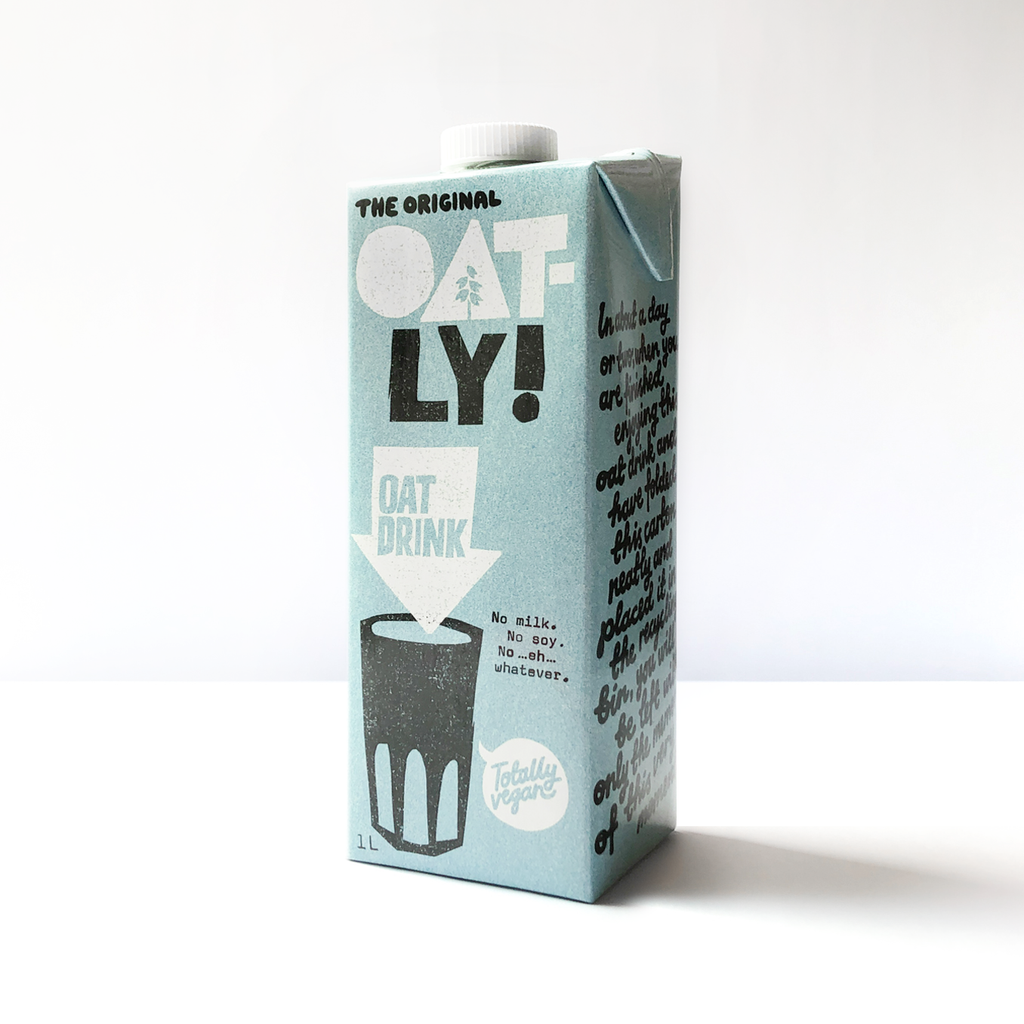 Oatly! Enriched Oatmilk