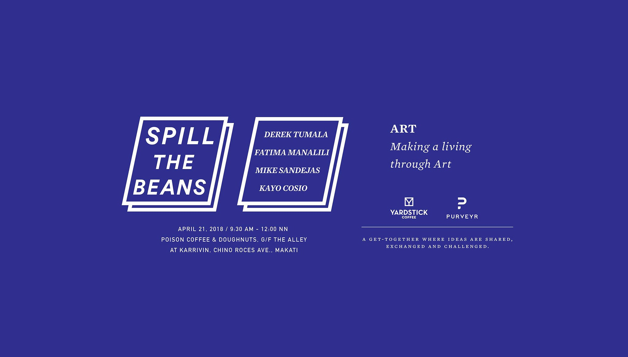 Spill the Beans (April 2018)