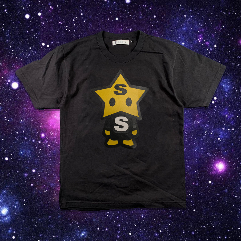 Black Leather StarBoy Tshirt