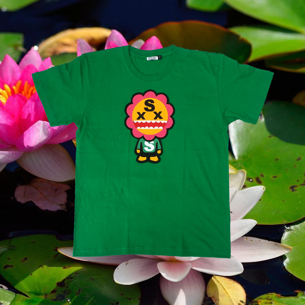 Green FlowerBoy T-Shirt