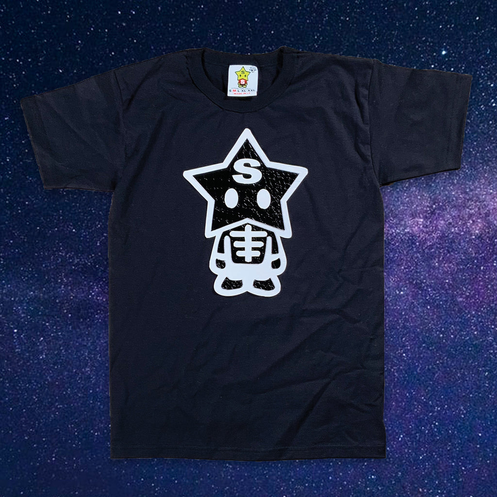 Leather SkeleStarBoy T-shirt