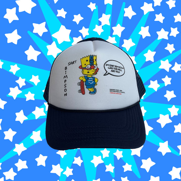 Saturn Skater Trucker Hat