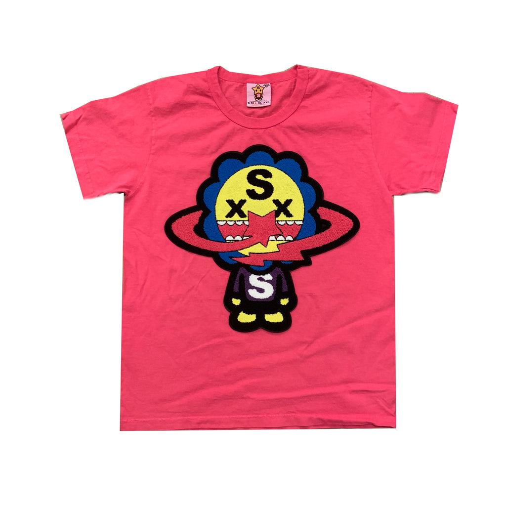 Vivienne Flower Boy T shirt Pink